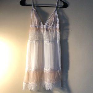 NWOT Small Victoria Secret Sheer Teddy